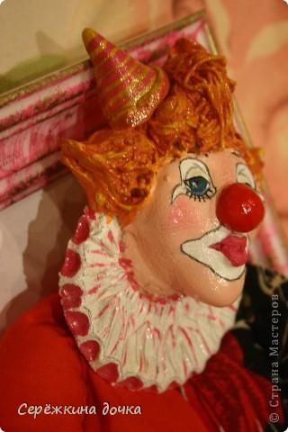 Грустный клоун получился =(  фото 6