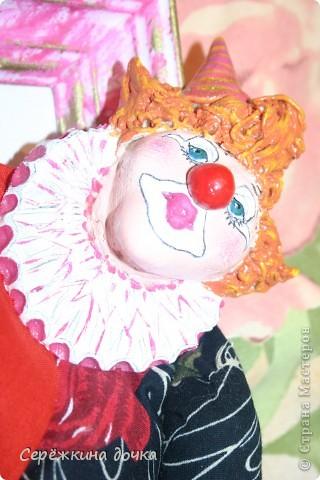 Грустный клоун получился =(  фото 2