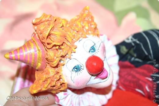Грустный клоун получился =(  фото 4