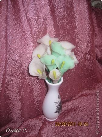 Первая моя роза из холодного фарфора размером с настоящюю))) фото 5