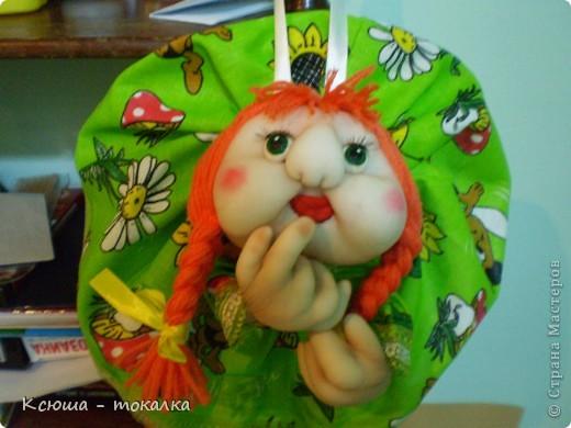 Ура!:) Наконец - то я ЭТО сделала!!!:) Приглашаю вас на знакомство. Это моя первый попик, и моя первая кукла вообще. Если бы мне, еще несколько месяцев назад, сказали бы, что я буду шить, я бы, наверно, пальцем у виска покрутила, потому что никогда не чувствовала в себе пристрастия к швейному делу. фото 4