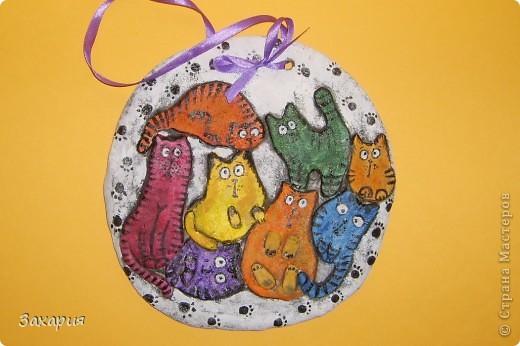 В блоге у Иры (Самурайчик) увидела таких котов и просто очаровалась!!! http://stranamasterov.ru/node/182581