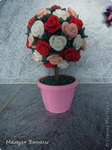 Мое самое первое цветочное дерево. фото 4