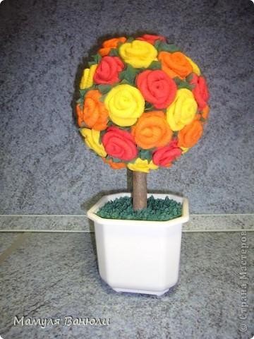 Мое самое первое цветочное дерево. фото 5