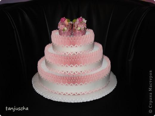 Давно хотела сделать такой тортик и вот мечта сбылась. МК тортика тут http://stranamasterov.ru/technics/cake?tid=451%2C328.Огромное спасибо за подробный МК  тортика Татьяне Просняковой фото 5