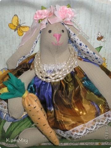 """Проболела я в эти выходные... Вот и маловат """"улов"""" оказался. Сшилось только две игрушечки - кролик и ещё одна овечка. Сейчас познакомимся.  фото 4"""