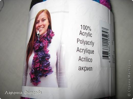 В результате у нас получится вот этот чудо-шарфик!!! фото 3