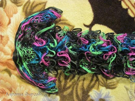 В результате у нас получится вот этот чудо-шарфик!!! фото 11