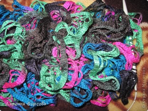 В результате у нас получится вот этот чудо-шарфик!!! фото 12