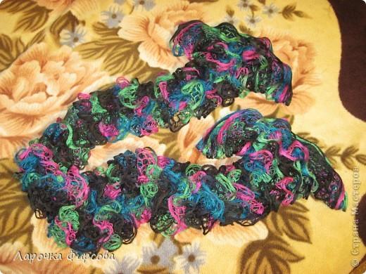 В результате у нас получится вот этот чудо-шарфик!!! фото 1