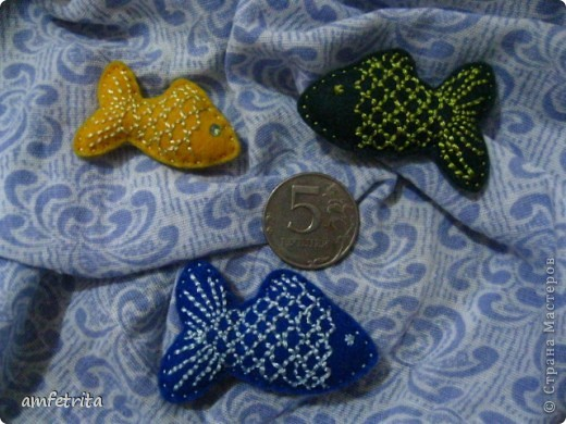 Рыбки-брошки фото 2