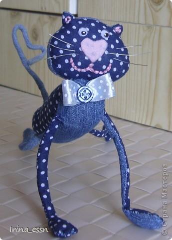 Это моя вариация кота Блудня из журналов Pretty Toys  фото 2