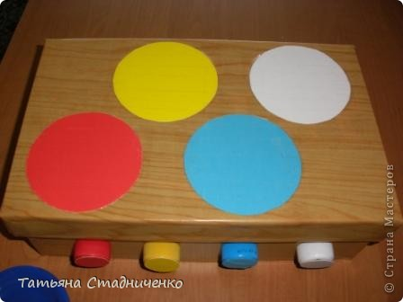Вот сделала  дочке плиту для игр,внутрь можно складывать посудку. фото 3