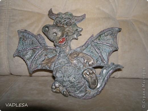 Мои драконы разлетаются встречать Новый 2012 Год фото 3
