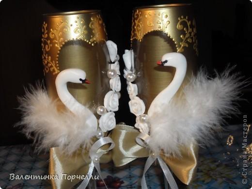 И снова лебеди.....Или как я намудрила.... фото 2