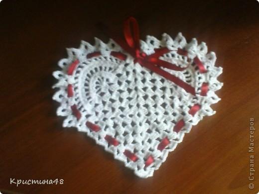 Вот такая подставочка-сердечко получилась ко дня Святого Валентина