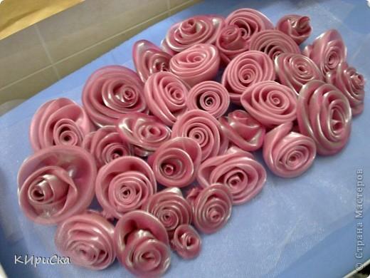 Розы для выпускного платья фото 2
