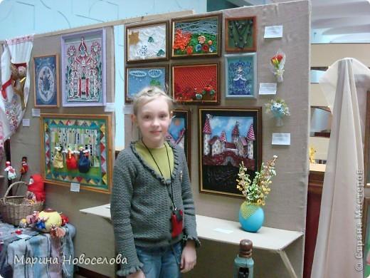 На выставке детского творчества фото 4