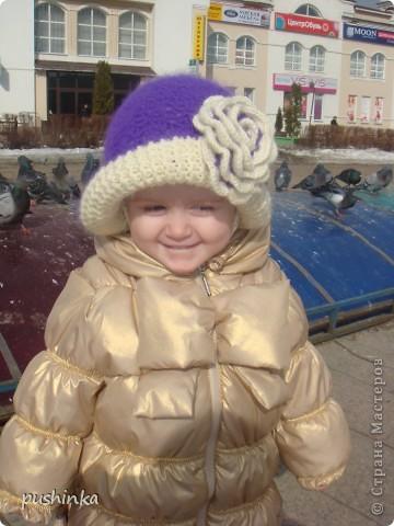 Шляпка для дочурки