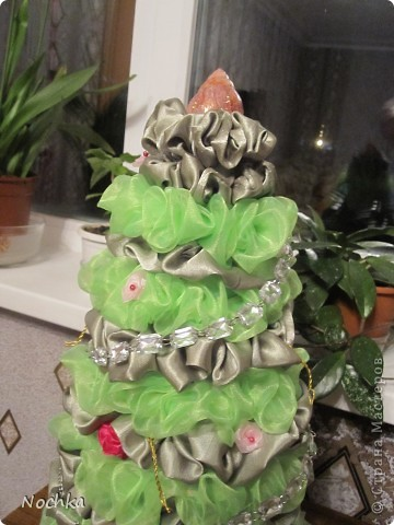 Вот такую ёлочку сотворила моя мама. фото 1
