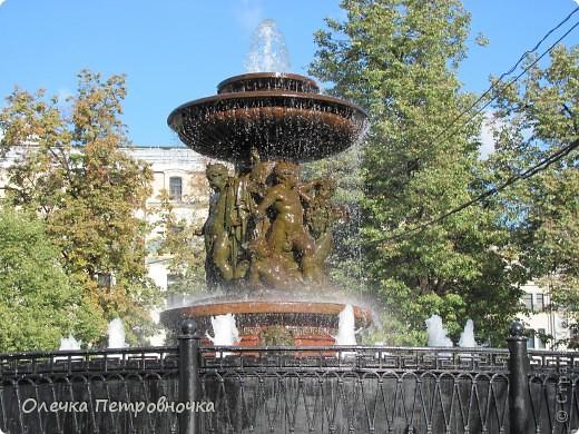 """Скоро закрытие фонтанов.Приглашаю вас на экскурсию, которую недавно посетила. Началась экскурсия с комплекса фонтанов в саду """"ЭРМИТАЖ"""".                                                                                 Апполон. фото 8"""