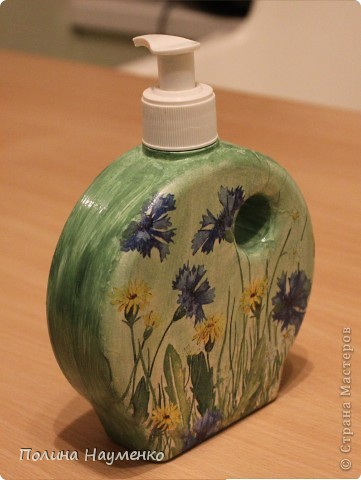 Эта бутылочка была синей из одного шведского магазина, распространенного в России, с желто-синем логотипом)) фото 2