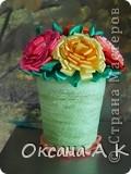 Цветы из лент. фото 3