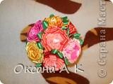 Цветы из лент. фото 4