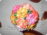 Цветы из лент. фото 2