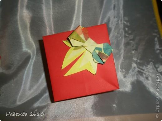 Вот такие замечательные коробочки у меня получились спасибо за МК http://stranamasterov.ru/node/100066?tid=451%2C1643 и бантики у меня тоже ничего МК тут http://stranamasterov.ru/node/17095?tid=451%2C560 тоже благодарю!!! фото 4