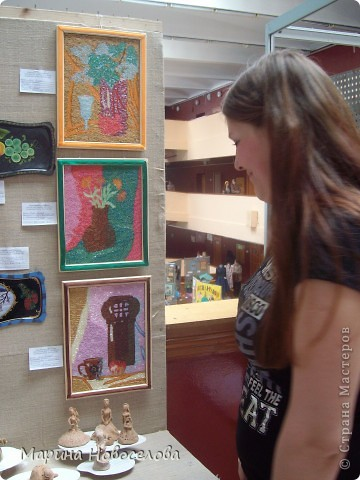 На выставке детского творчества фото 33