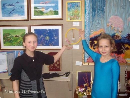 На выставке детского творчества фото 35