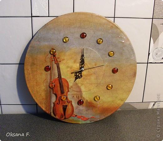 Эти часы сделала в подарок учительнице сына к Дню учителя. фото 1