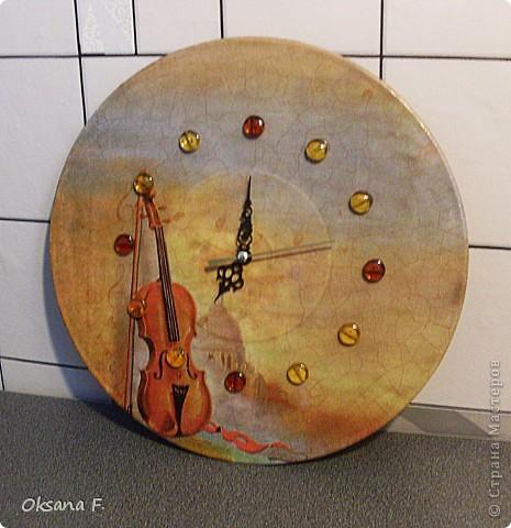 Эти часы сделала в подарок учительнице сына к Дню учителя. фото 3