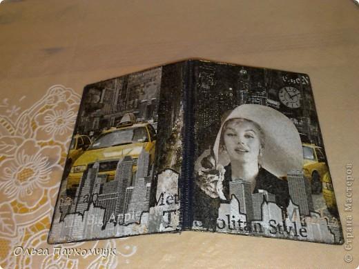 И не только обложками, в наборчик вошел ежедневник и визитница )))  фото 3