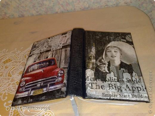 И не только обложками, в наборчик вошел ежедневник и визитница )))  фото 4