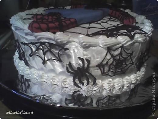 Торт с человеком пауком своими руками