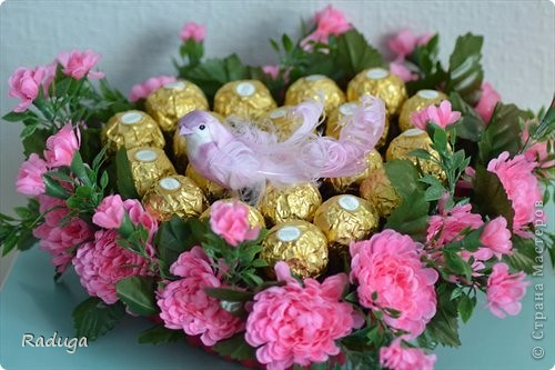 Праздничная упаковка конфет фото 3
