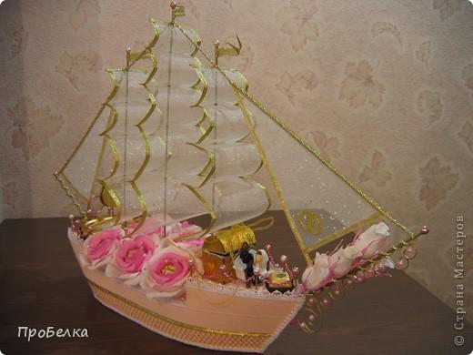 Свадебный корабль, единственная светлая фотка, за остальные прошу извинить. Пока без названия... фото 3