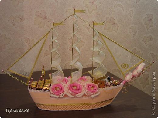 Свадебный корабль, единственная светлая фотка, за остальные прошу извинить. Пока без названия... фото 2