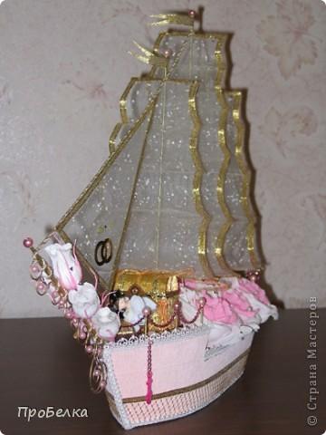 Свадебный корабль, единственная светлая фотка, за остальные прошу извинить. Пока без названия... фото 1