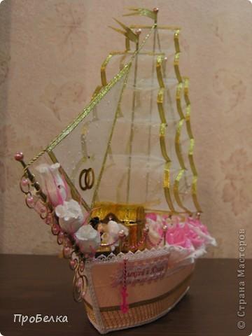 Свадебный корабль, единственная светлая фотка, за остальные прошу извинить. Пока без названия... фото 14
