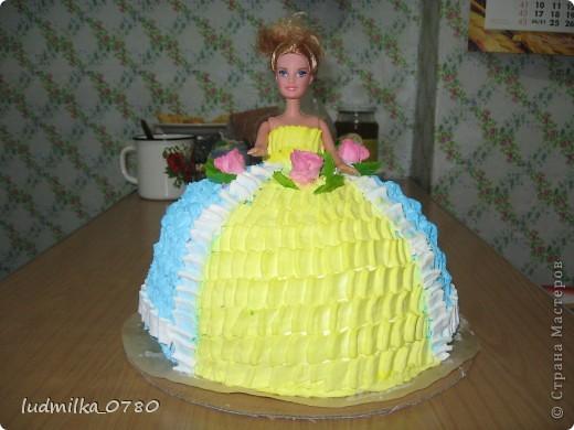 мой тортик барби