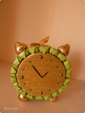 Мой будильник на день рождения. Спасибо ЕМ http://stranamasterov.ru/node/243734 и Ирине http://stranamasterov.ru/node/240907 фото 1