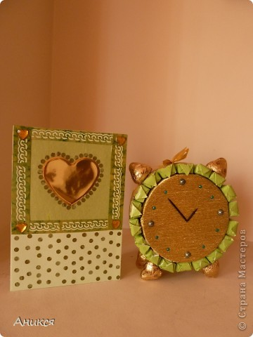Мой будильник на день рождения. Спасибо ЕМ http://stranamasterov.ru/node/243734 и Ирине http://stranamasterov.ru/node/240907 фото 3