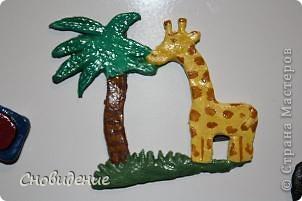 Магнит на холодильник, жираф фото 1