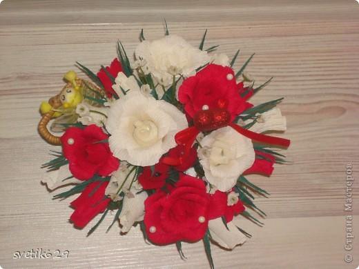 Едет муха на базар цветочки продавать))) Сделала в подарок для знакомой. фото 4