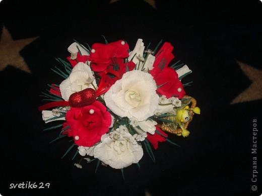 Едет муха на базар цветочки продавать))) Сделала в подарок для знакомой. фото 5