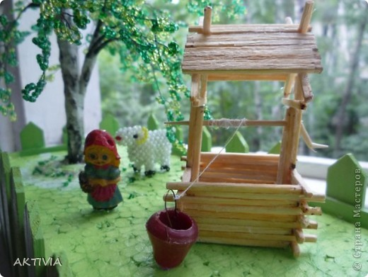 деревенский дворик фото 3