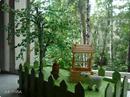 деревенский дворик фото 7